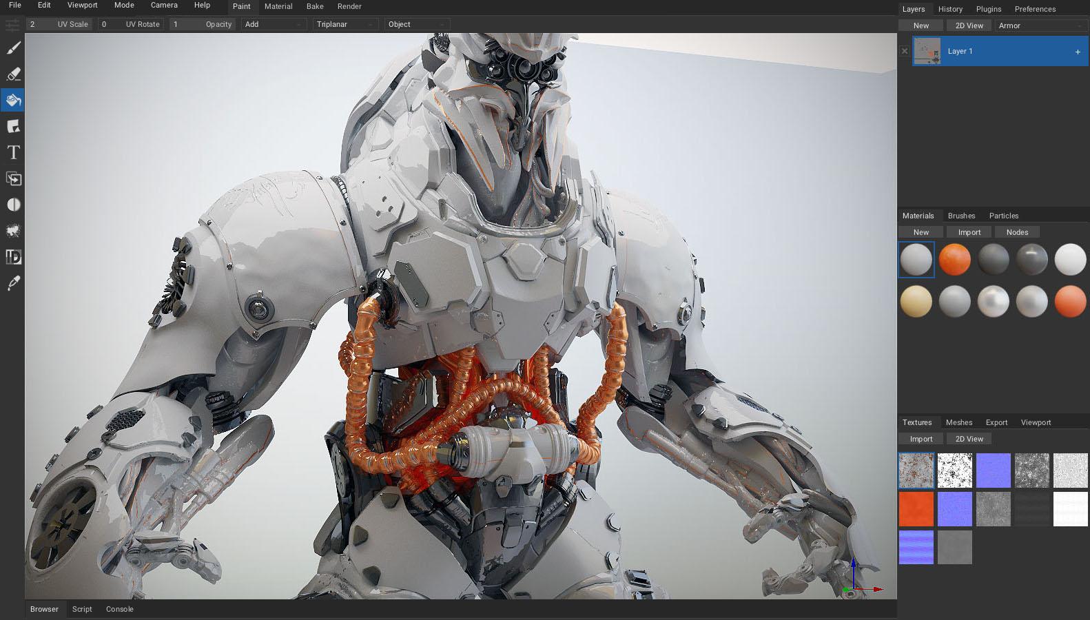 Armorpaint 3d Pbr Texture Painting